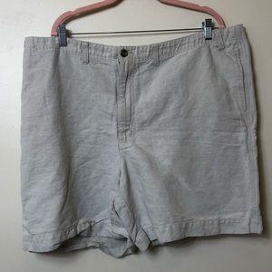 Men's Eddie Bauer Linen Shorts. Size 44